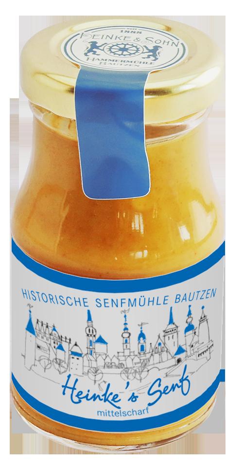 Senfmühle Bautzen mittelscharfer Senf
