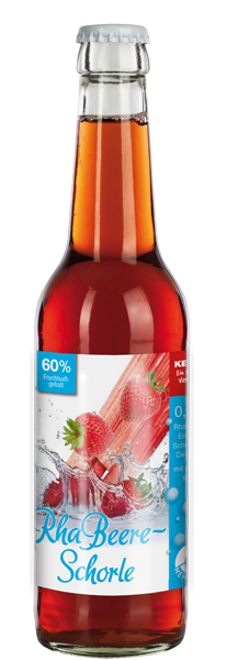 Rhabarber-Erdbeer Saft