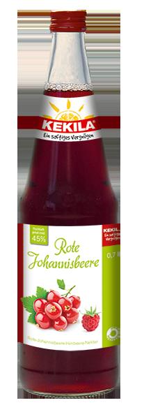Rote Johannisbeere-Himbeer Saft