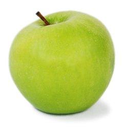 Ein Apfel, enthalten in verschiedenen Fruchtsaft Sorten von Kekila