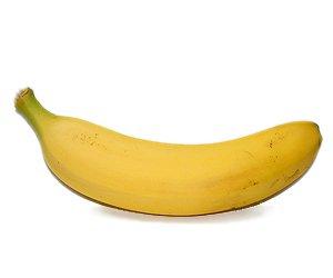 Eine Banane, enthalten in verschiedenen Fruchtsaft Sorten von Kekila
