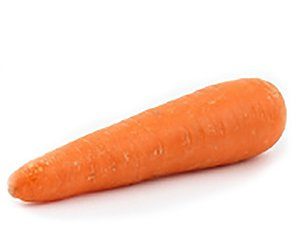 Eine Karotte, enthalten in verschiedenen Kekila Fruchtsaft Sorten