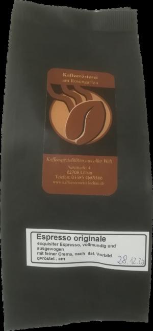 Kaffee der Kaffeerösterei